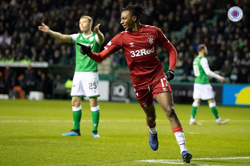Aribo Set For 20th Scottish Premiership Game As Rangers Host Ross County