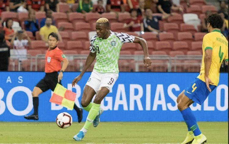 CAF, NFF Send Birthday Wishes To Osimhen At 21