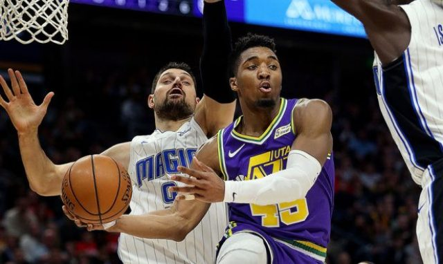 Jazz And Donovan Mitchell Will Host Magic At Vivint Smart Home Arena