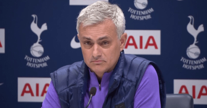 Mourinho Bans Spurs Players From Watching 7-2 Defeat to Bayern