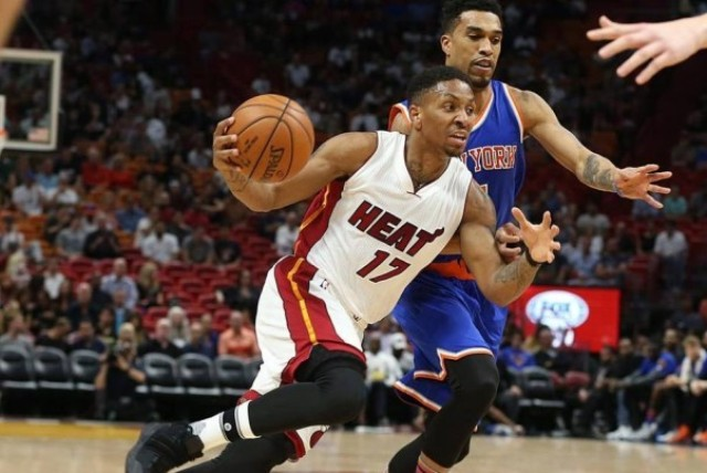 Kendrick Nunn And The Heat To Host Knicks At AmericanAirlines Arena