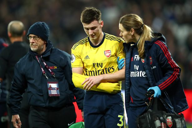 Arsenal Suffer Injury Blow As Tierney Dislocates Shoulder