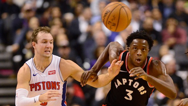 Don't Miss Pascal Siakam Facing Pistons At Little Caesars Arena