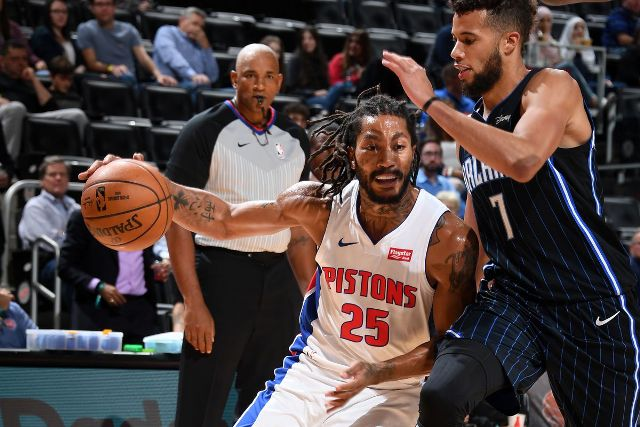 Pistons And Derrick Rose Will Host Bucks At Little Caesars Arena