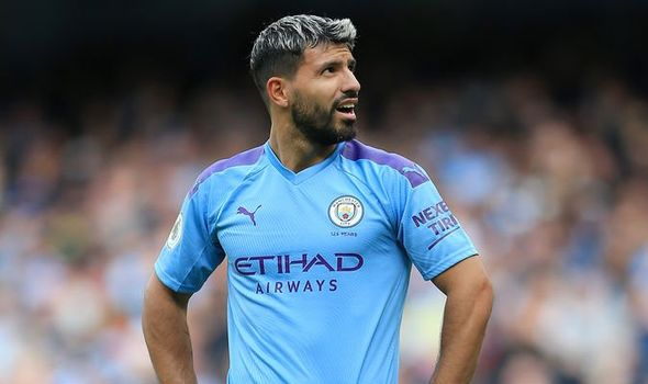Man City Star Aguero Tests Positive For Coronavirus