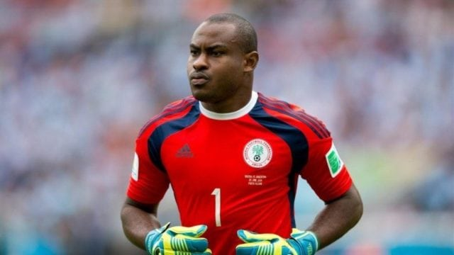 Enyeama Reveals Best Ever Match In Super Eagles Colours