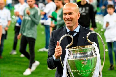 Zidane Backs Real Madrid To Knock Liverpool Out Of Champions League