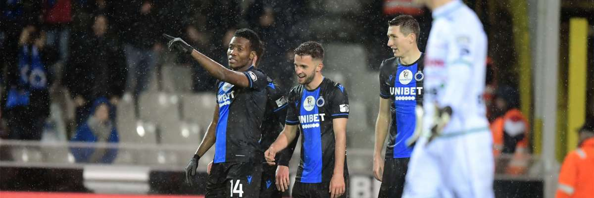 Okereke Thrilled To End  Club Brugge's Goal  Drought