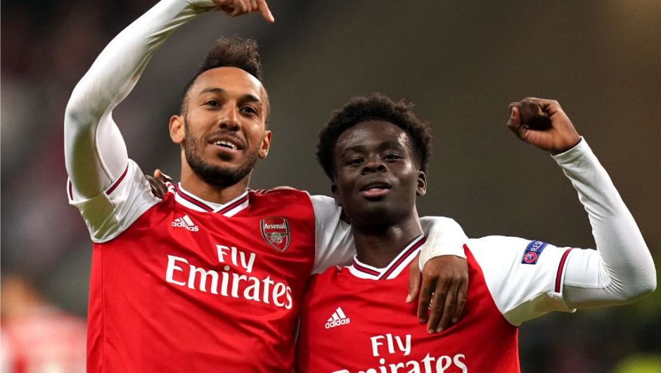 Arteta Reveals Latest On Saka, Aubameyang Contract Situation