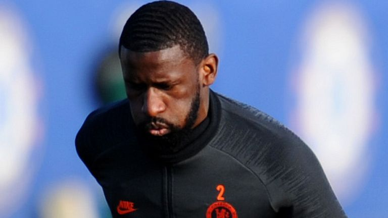 Rudiger Set For Chelsea Return After Three Months Injury Layoff