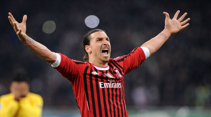 Ibrahimovic Rejoins AC Milan On Six-month Contract