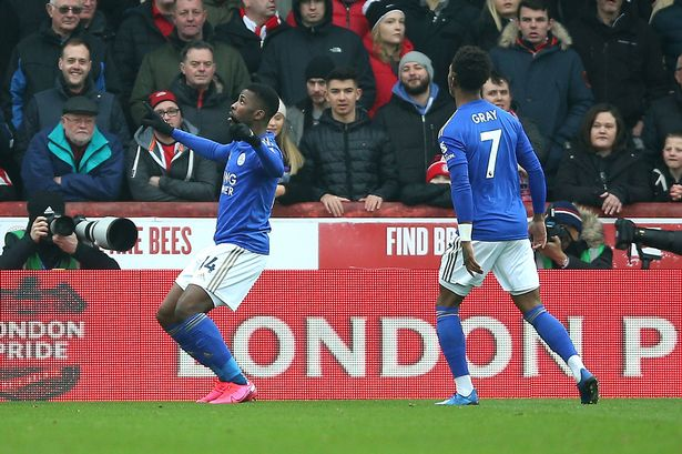 Rodgers Explains Decision  To Substitute Iheanacho In Leicester City Win Over Brentford