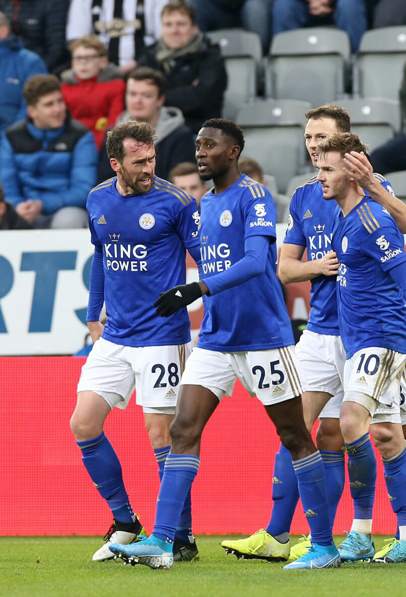 Ndidi Excited With Assist In Leicester Win At Newcastle
