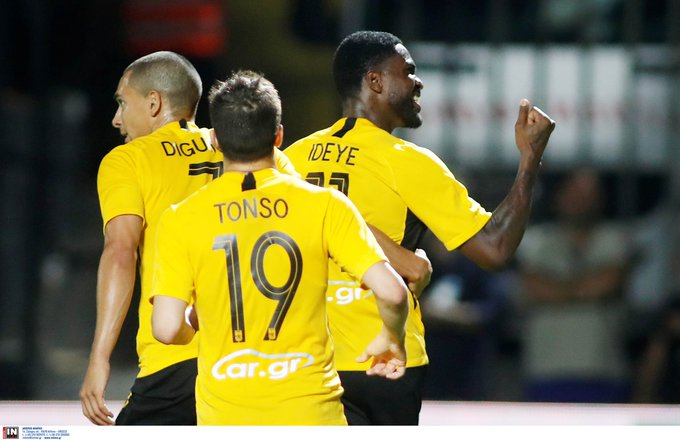 Eagles Roundup: Ideye On Target In Aris Draw, Osimhen Assists As Lille Thrash Toulouse