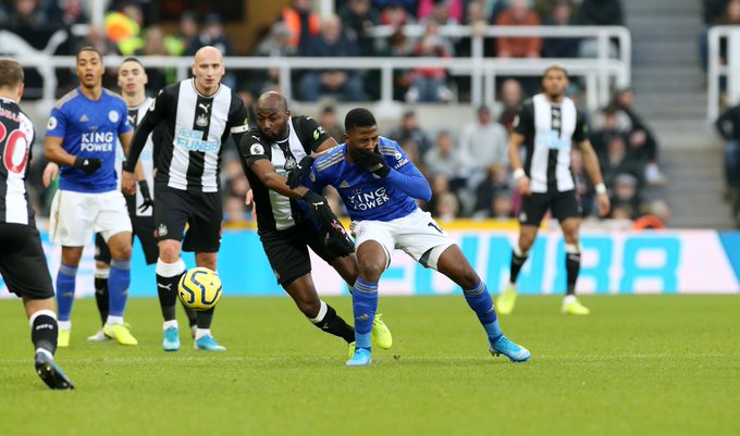 Iheanacho: Leicester City's Win Over Newcastle   Best Way To Start The Year