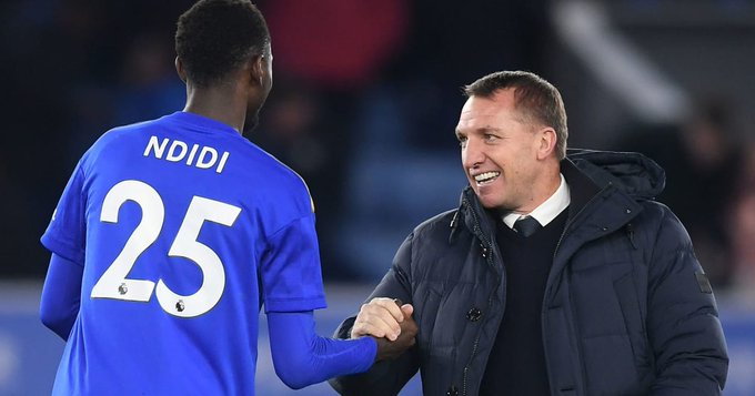 Rodgers Eager  To Have  'Top-Class Player'  Ndidi Back In Action For Leicester