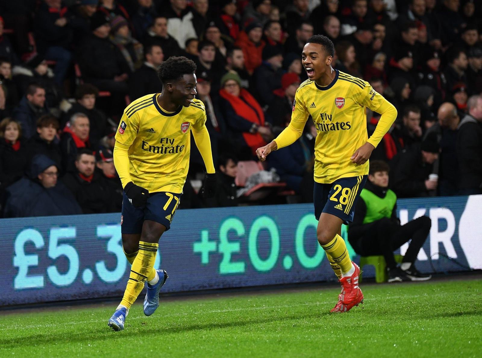 Saka Voted MOTM In Arsenal's FA Cup Win  vs Bournemouth