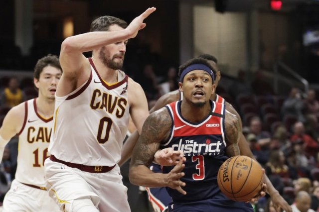 Great shooting Night For Bradley Beal With 36 Points As Wizards Beat Cavaliers 124-112 On The Road