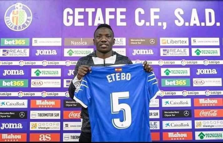 Etebo Ready For LaLiga Debut Vs Leganes- Getafe Boss  Bordalos