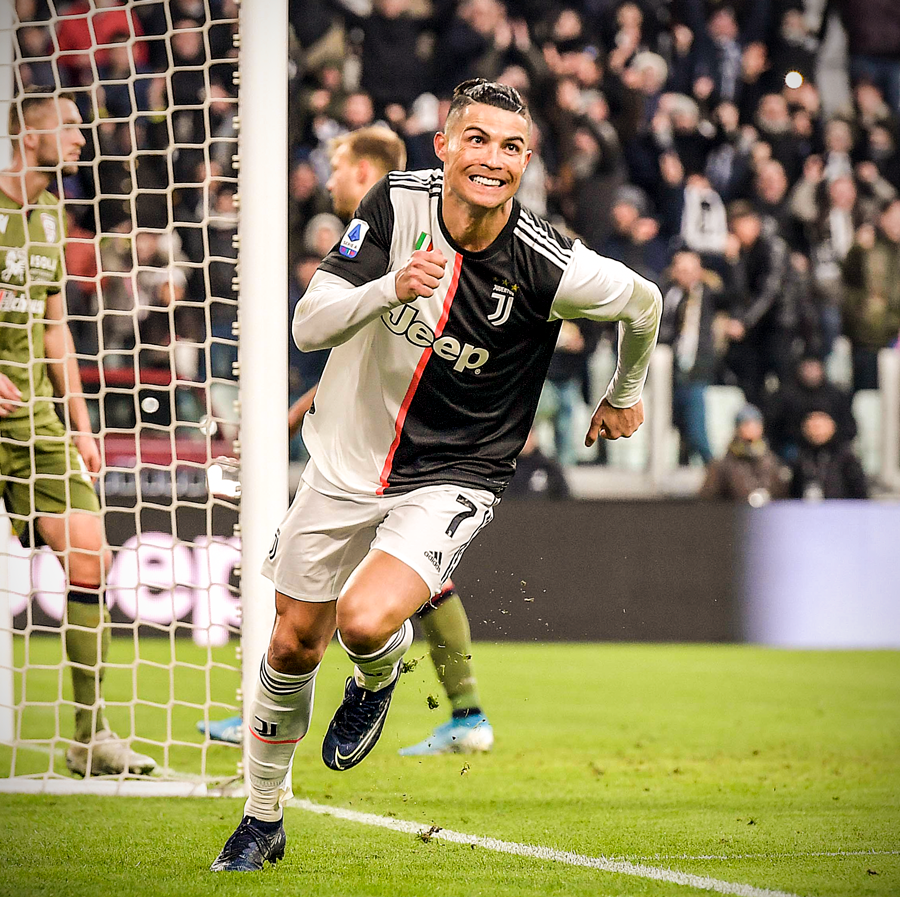 Ronaldo Talks Up Hat-Trick For Juve Against Cagliari: 'The Year Has Started Well'