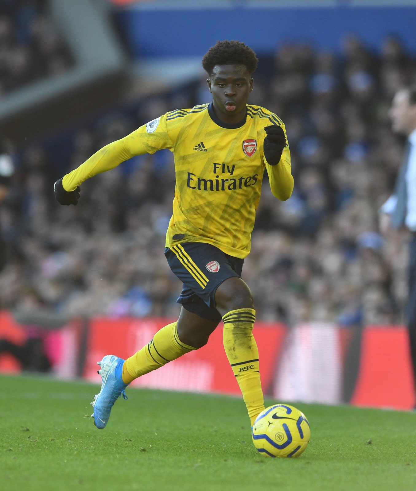 Saka Listed in UEFA's 50 Best Young Talents To Watch in 2020