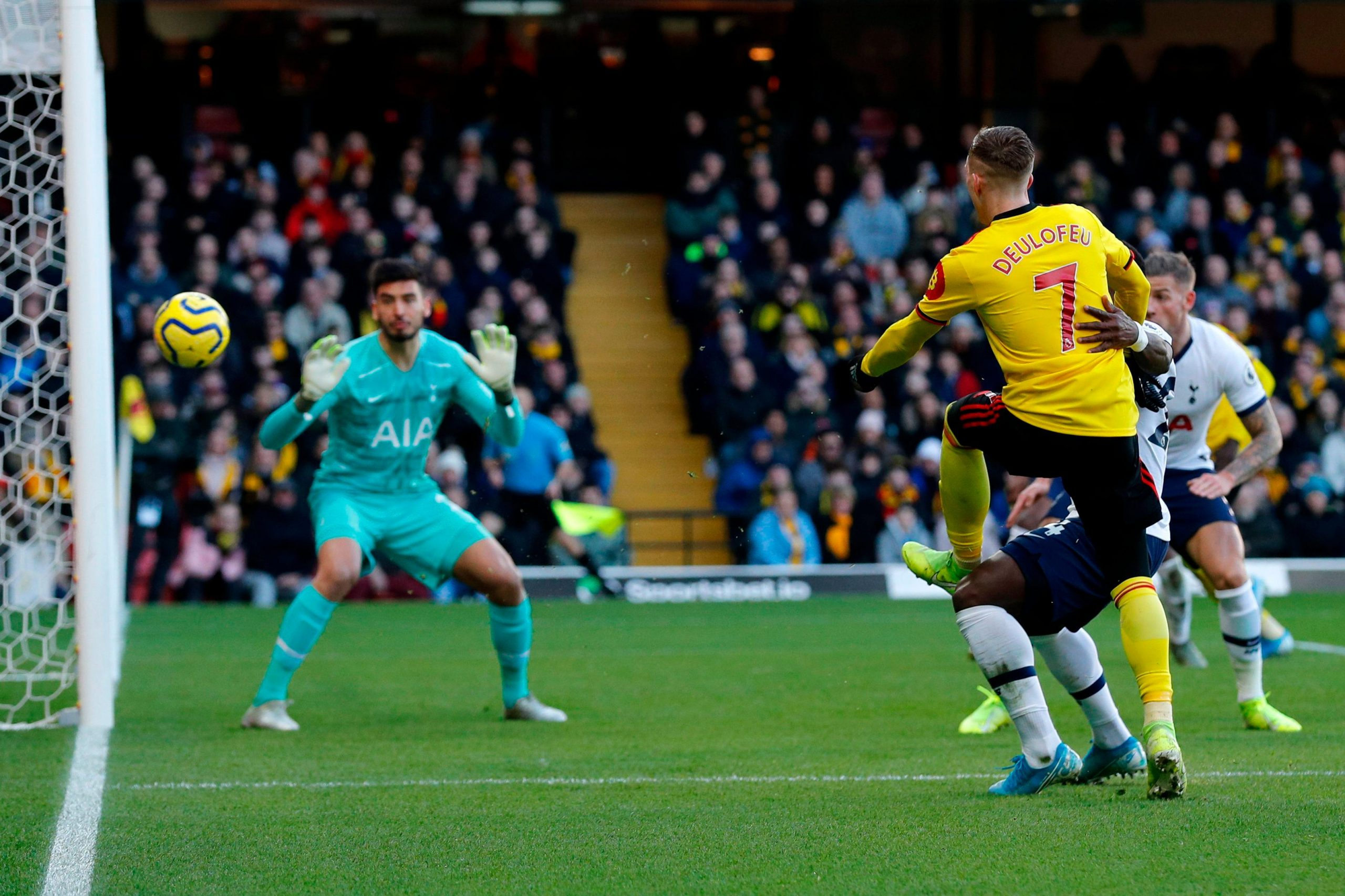 Success Drop For New Signing Pussetto As Watford Draw Spurs