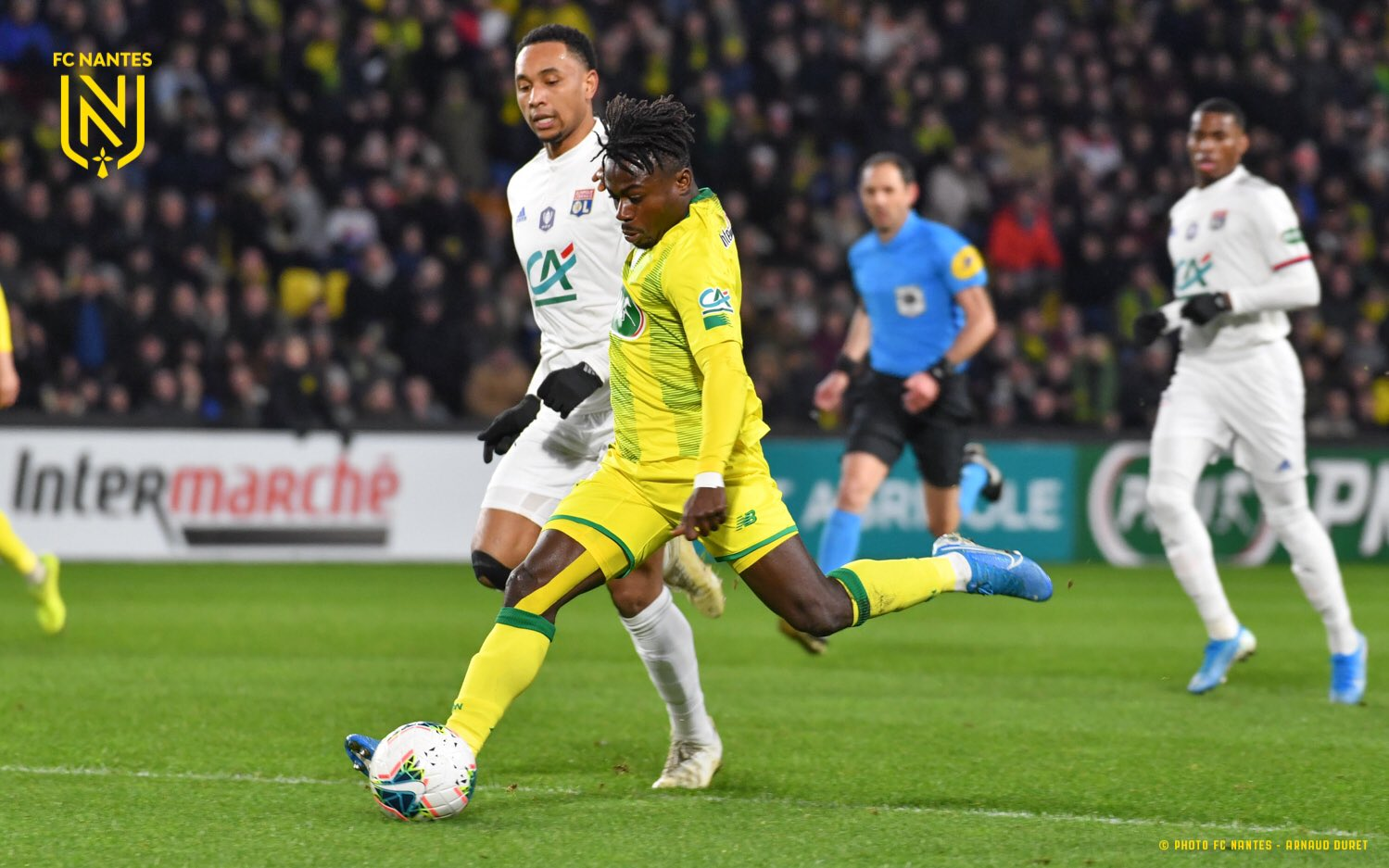 Simon Voted Nantes Man of The Match In French Cup Defeat To Lyon