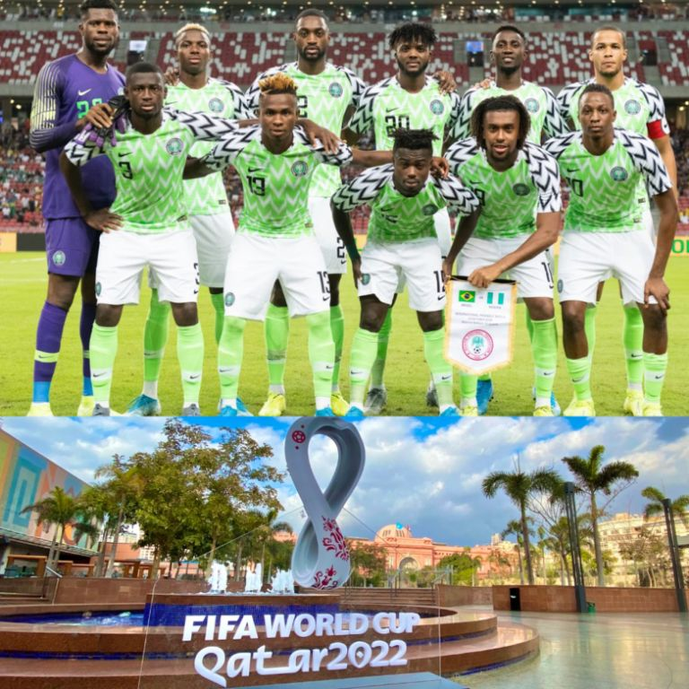 Odegbami: With 2 Years to go, The Super Eagles Land in Qatar!