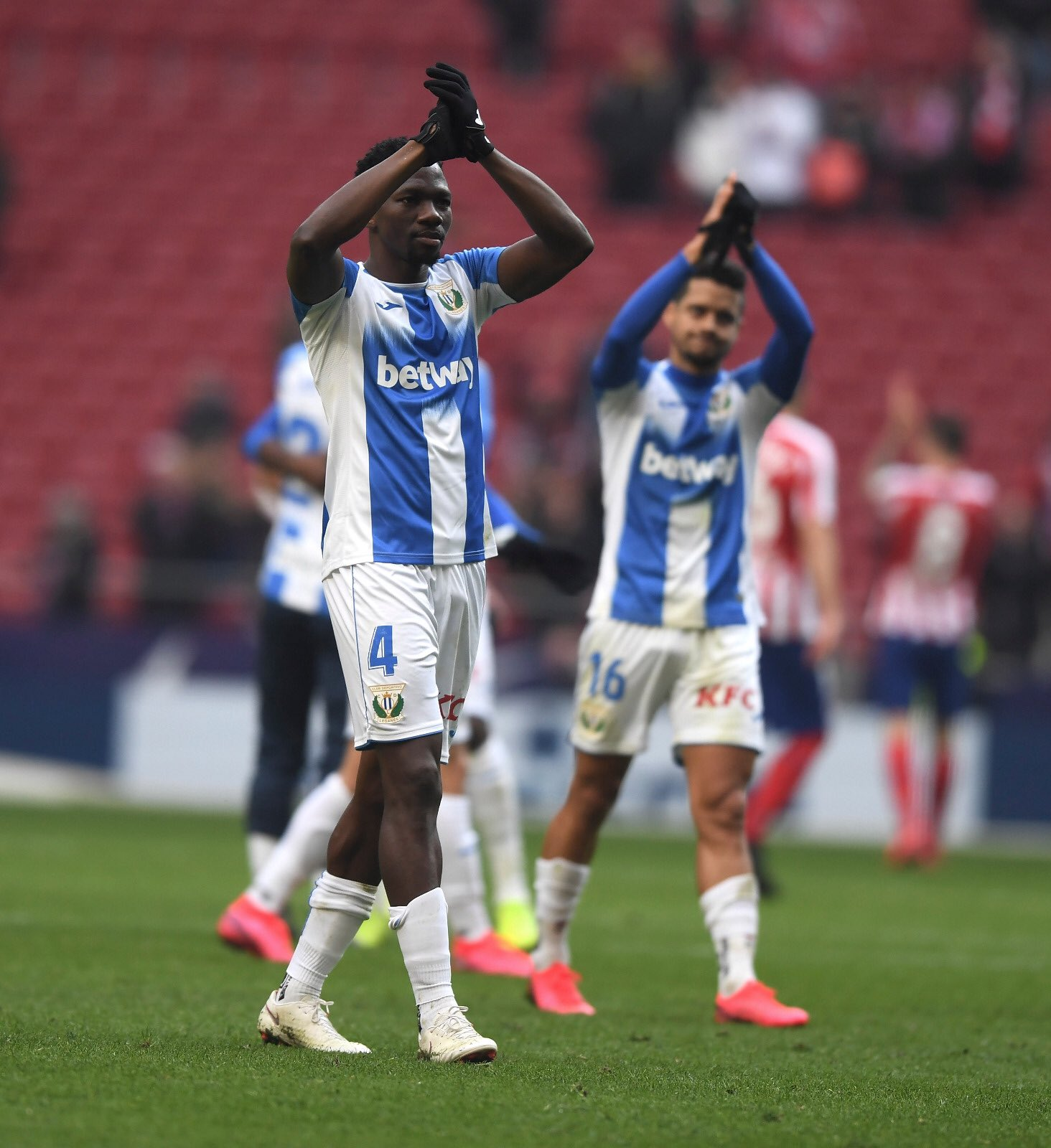 Omeruo, Awaziem Help Relegation Threatened Leganes Bag Draw At Atletico Madrid