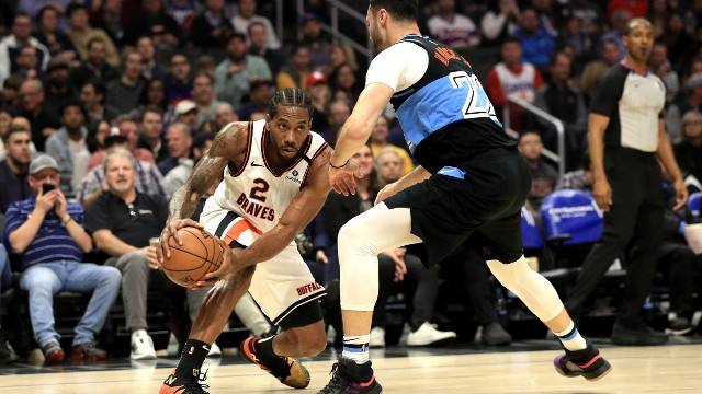 Kawhi Leonard Scores 43 Points As Clippers Beat Cavaliers 128-103 At Home