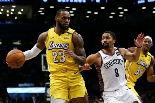 Kyle Kuzma Scores 16 Points As Lakers Beat Nets 128-113 On The Road