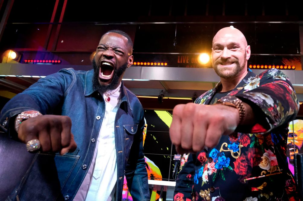 Wilder Labels Fury Boxer With 'Pillow Fists'; Briton Targets knockout Win in Rematch