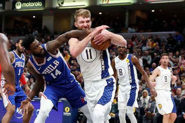Pacers And Domantas Sabonis Will Host Sixers At Bankers Life Fieldhouse
