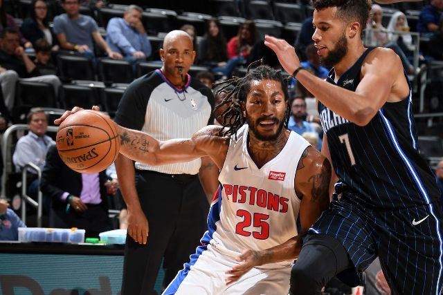 Pistons And Derrick Rose Will Host Pels At Little Caesars Arena