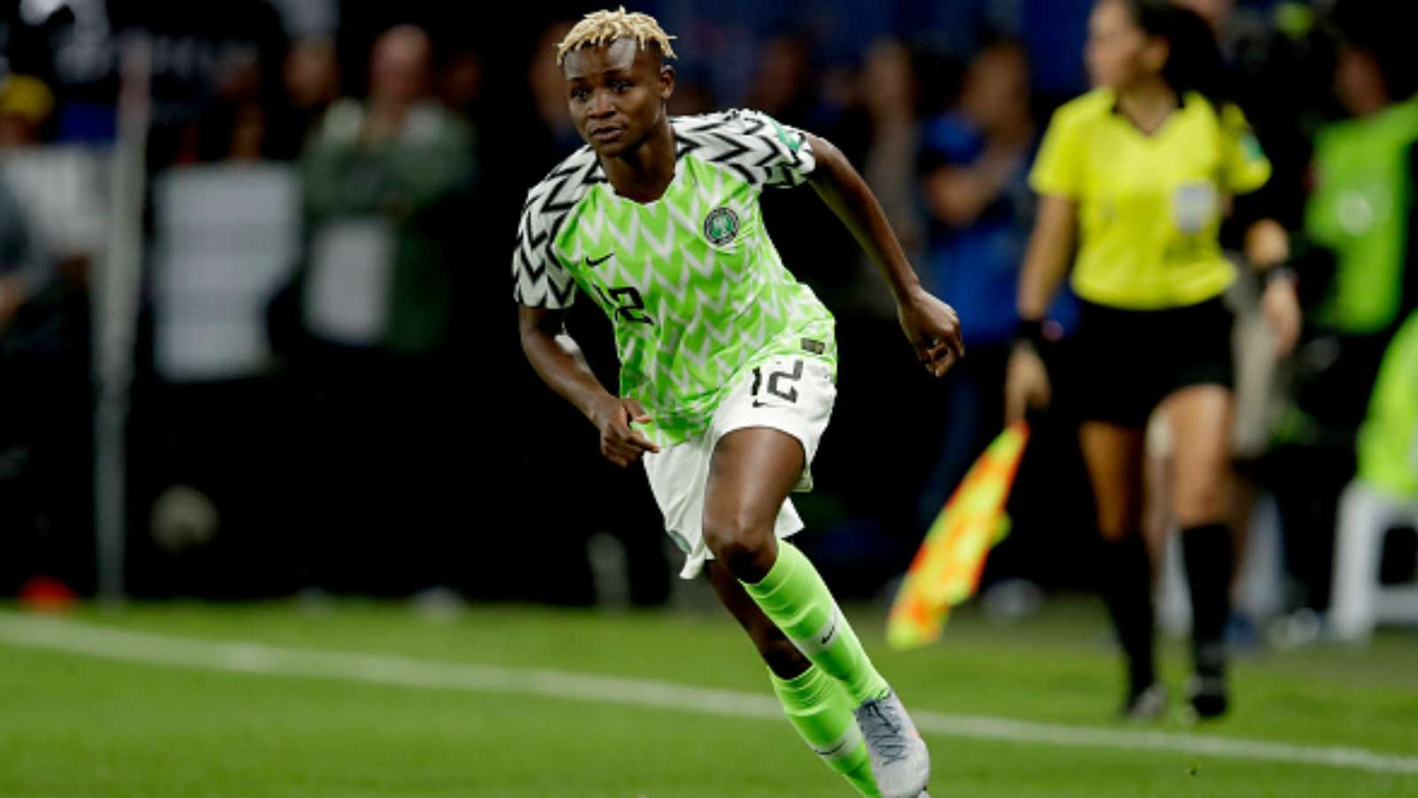 Falcons Star Kanu Joins Sevilla Ladies