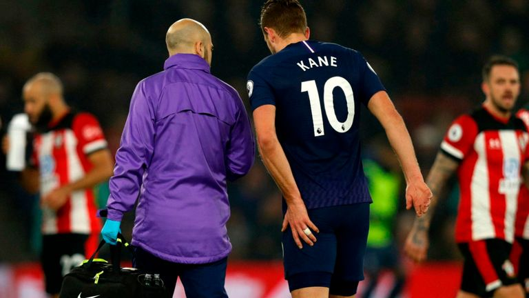 Kane Ruled Out Until April With Hamstring Injury