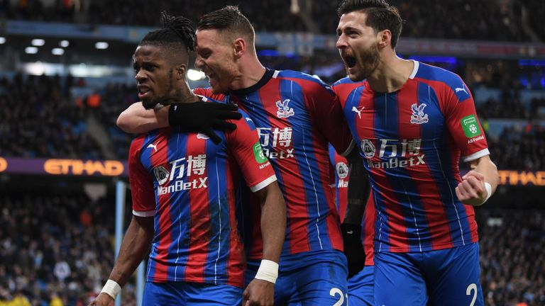 EPL:  Palace Hold Man City; Arsenal, Sheffield Share The Spoils At The Emirates