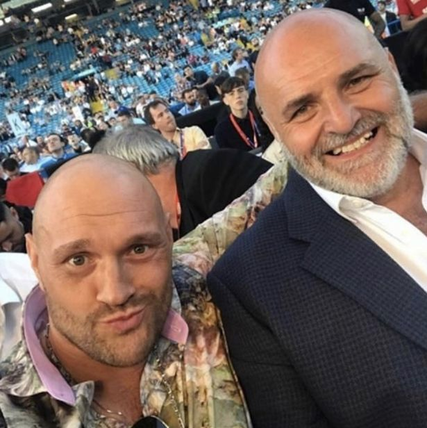 Fury's Dad Warns Joshua: Stay Away From My Son He'll Wreck You