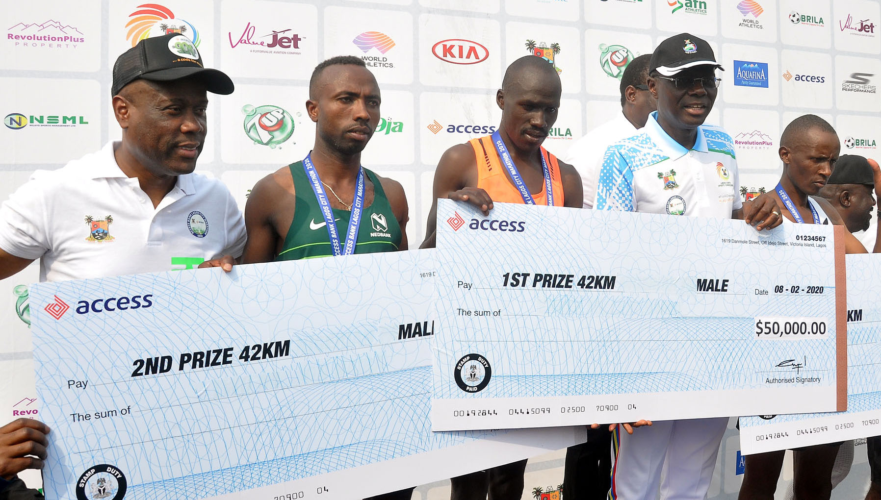 Access Bank Lagos City Marathon: Wigwe Celebrates Successful 2020 Edition