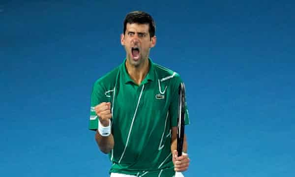 Djokovic Beats Thiem To Clinch 8th Australian Open Title