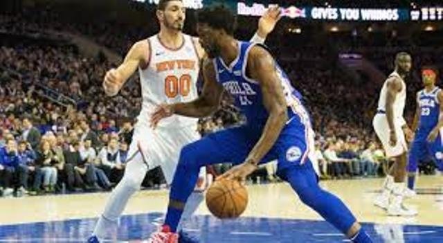 76ers And Joel Embiid To Host Knicks At Wells Fargo Center
