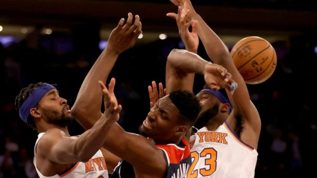 Bradley Beal Steps Up With 30 Points, Wizards Beat Knicks 114-96 On The Road