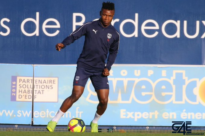 Bordeaux Boss Sousa Commends Kalu For Improved Attitude In Training