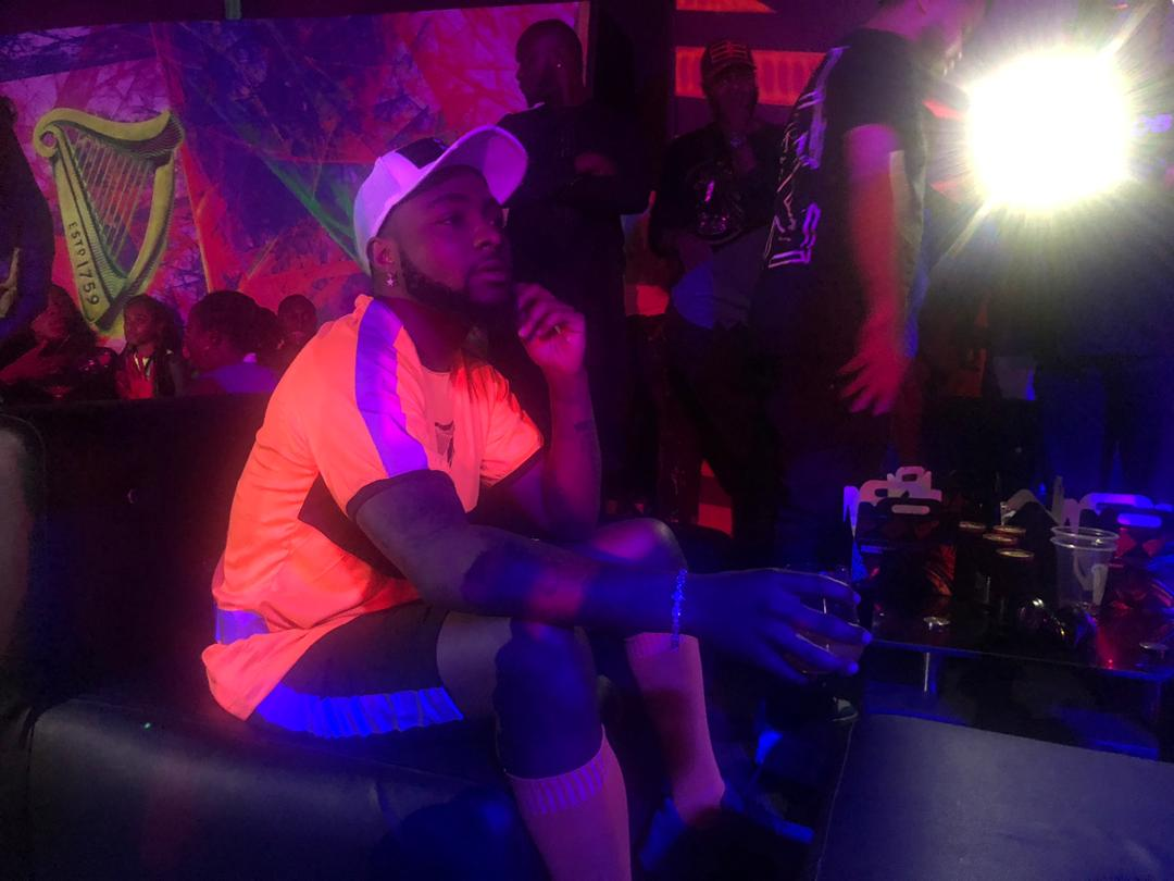 Ferdinand, Davido Thrill Fans At The Grand Finale Of Guinness Night Football