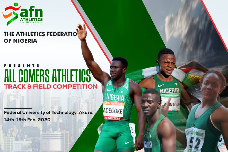 AFN All Comers Athletics: Minister, Officials to Grace Event