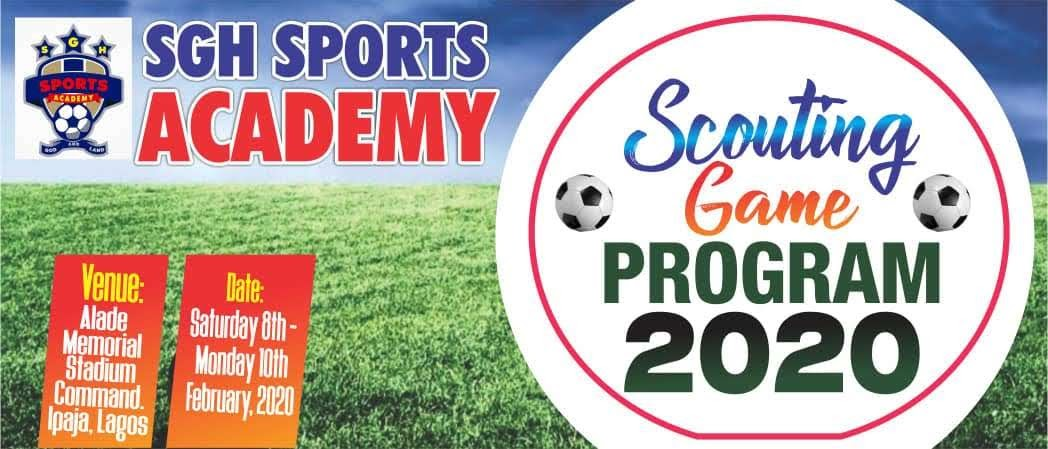 Over 70 Players Turn-out For Maiden SGH Football Academy's Trial And Scouting