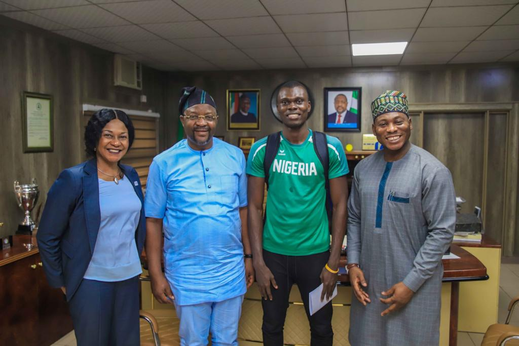 Triple Jumper Oritsemeyiwa Gets Sports Minister's Support For USA Scholarship Trip