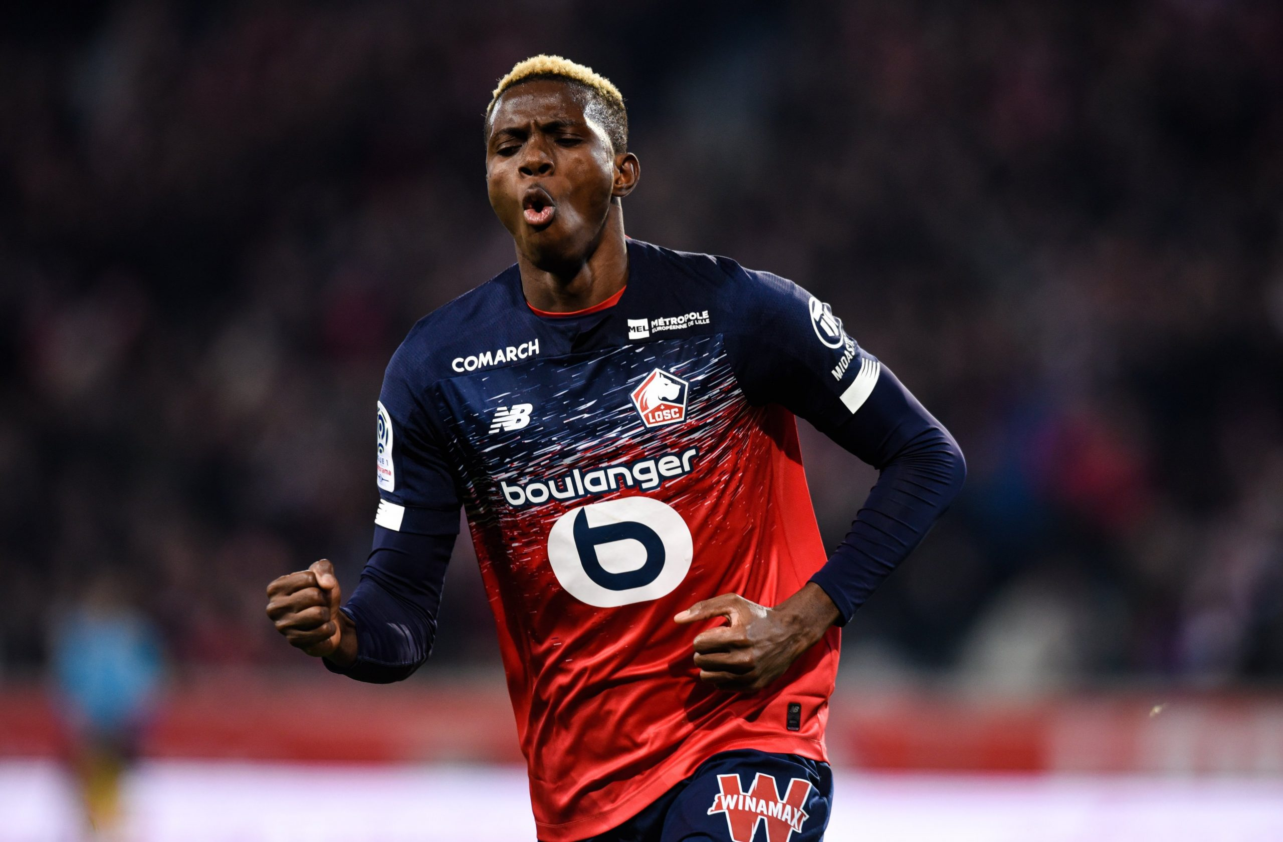 Osimhen Targets Champions League Qualification With Lille