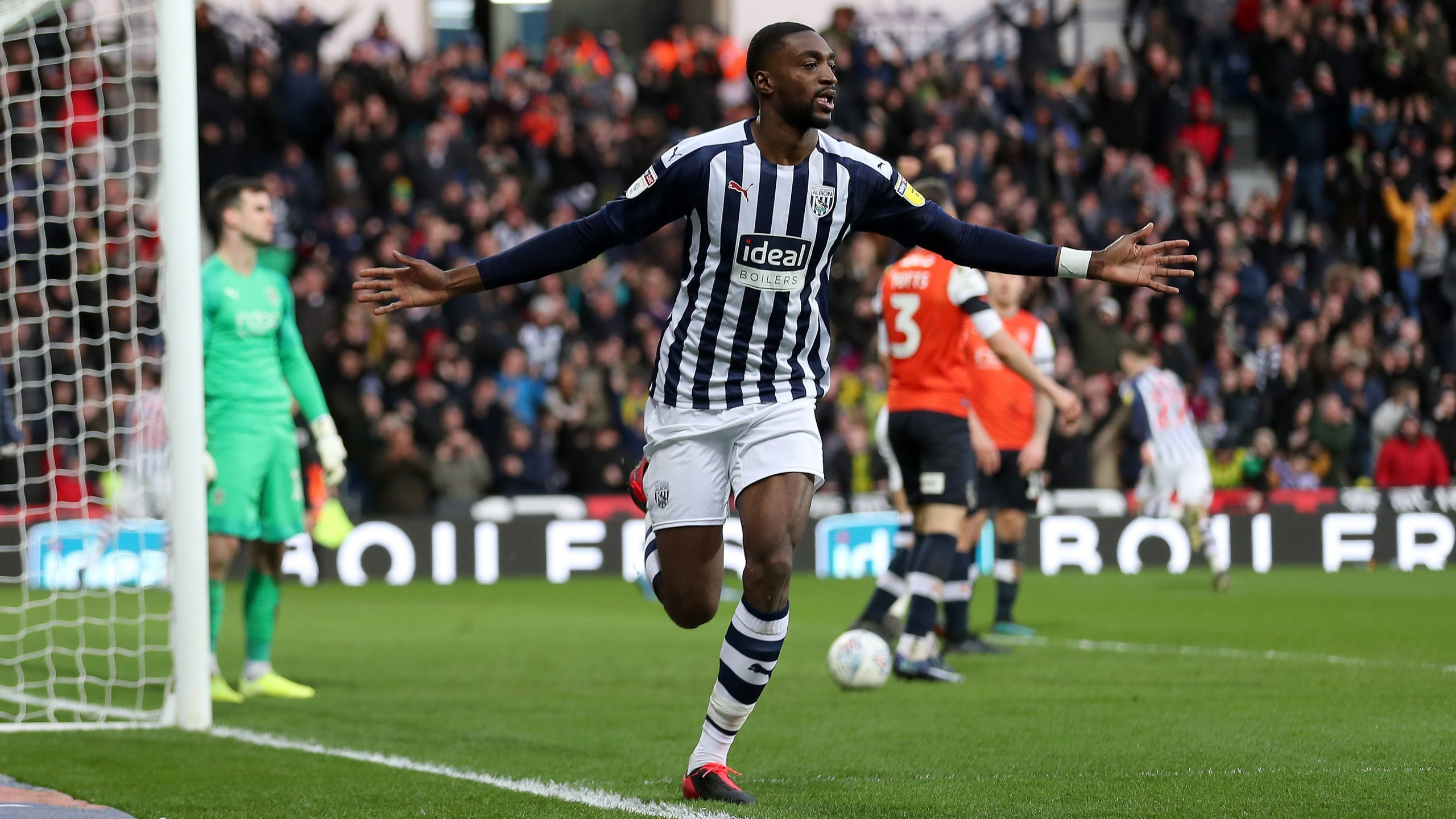 Championship: Ajayi On Target As West Brom Pip Luton 2-0 At The Hawthorns