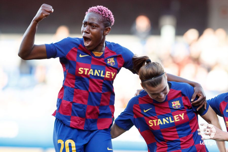 LaLiga Hail Oshoala On 15th League Goal In Win vs Sevilla